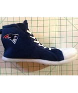 New England Patriots High Top Sneaker Slippers New Old Stock Medium - $18.81
