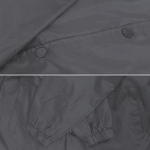 Men's Windbreaker Lightweight Waterproof Sherpa Button Up Athletic Coach Jacket image 4
