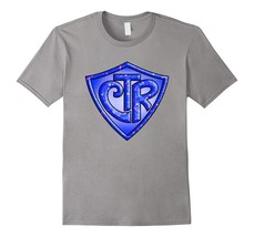 CTR - Choose The Right LDS Mormon - Blue Glitter T-Shirt Men - $17.95+