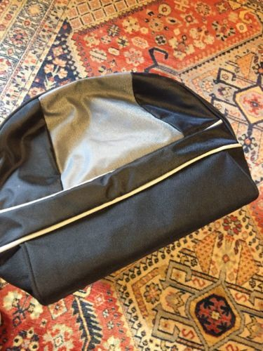 Samsonite Duffle Bag 21 inch Black Gray Travel With Shoulder Strap image 8