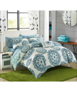 Chic Home barcelona reversible bed set (Twin, Green)  - $85.79