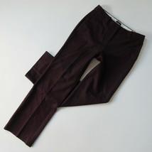 NWoT Talbots Windsor Wide-Leg in Wildberry Italian Flannel Wool Pants 4 ... - $36.99