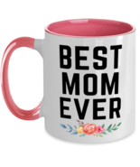Mom Coffee Two Tone Mug, Best Mom Ever Unique Gift For Women and Moms, 1... - £16.39 GBP