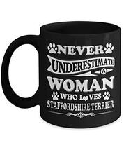 Staffordshire Terrier Mug Coffee Tea Cup Funny Gifts for Men Women Mom Dad - 11  - $16.78
