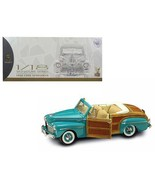 1946 Ford Sportsman Woody Green 1/18 Diecast Model Car by Road Signature - $116.02