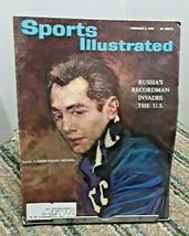 Sports Illustrated February 4 1963 Valeri Brumel Russia High Jumper - $5.89