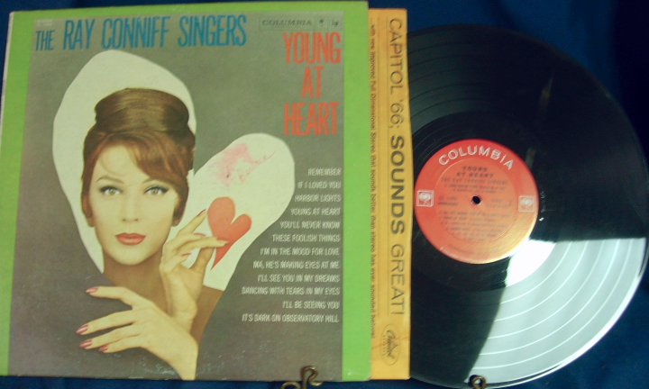 The Ray Conniff Singers - Young at Heart - Columbia Records CL 1489