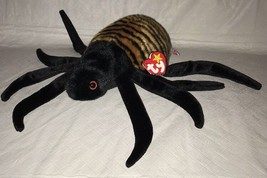Ty B EAN Ie Buddy Spinner The Spider 1999, Retired & New Mwmt - $13.85