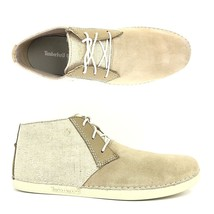 Timberland Men's Bailard Mixed-Media Beige Suede Chukka Shoes A13DF ALL ... - £47.33 GBP