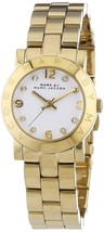 Marc Jacobs Women's MBM3057 Amy Gold-Tone Stainless Steel Watch - $122.20
