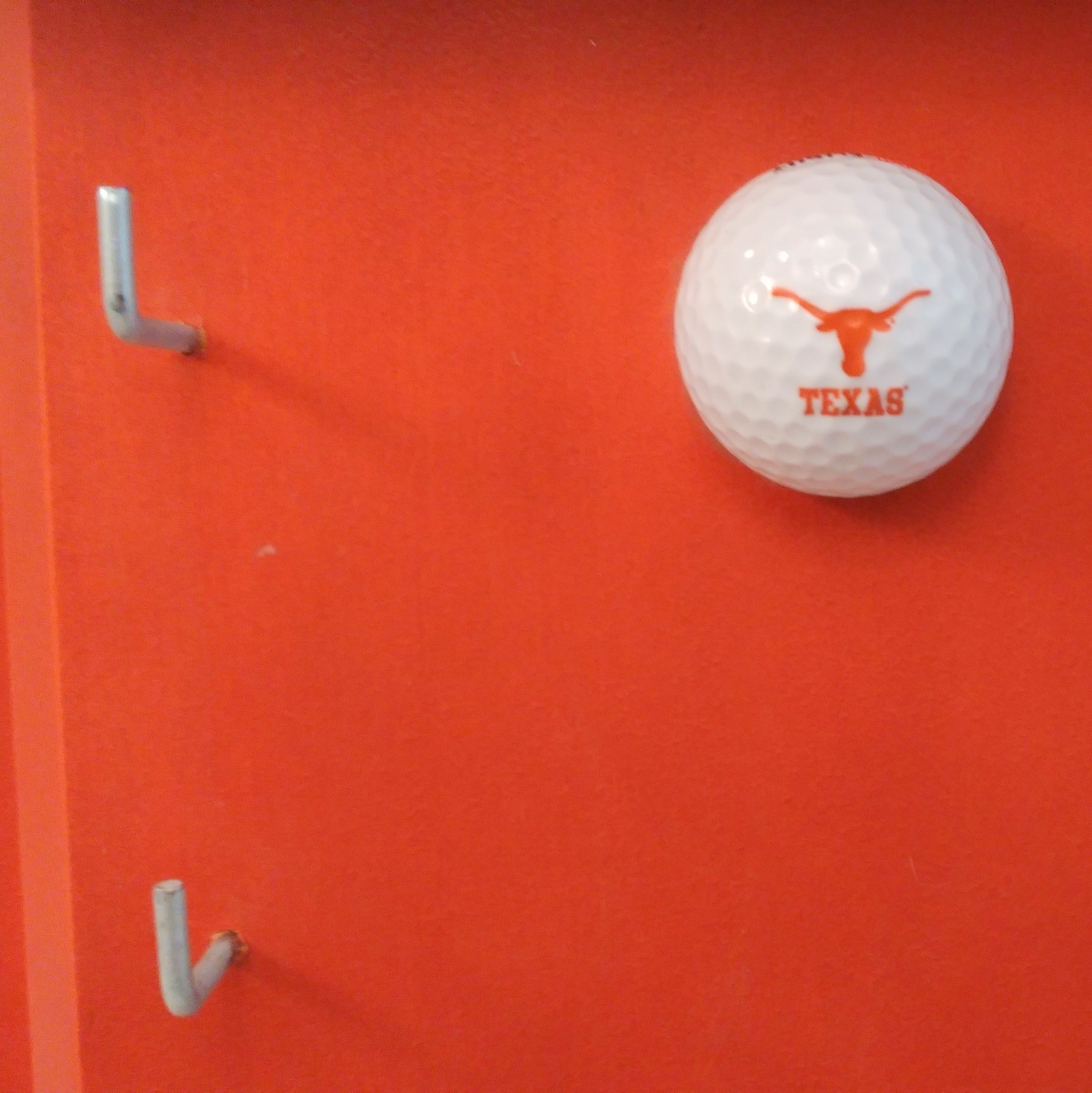 Texas Longhorn Golf Themed Key Holder / Hat Rack