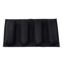 Silicone Non Stick Baking Liners Mat Bread Mold Bread Mould 4 Loaf Form - $16.99
