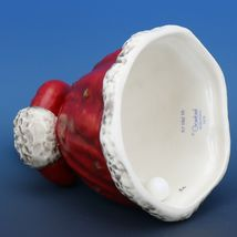 Red Angel Christmas Choir Bell Figurine c.1979 Goebel W. Germany image 4