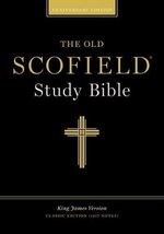 Old Scofield Anniversary Edition Study Bible, KJV Classic Edition Bonded... - $16.99