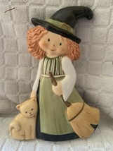 "Goebel Halloween A whiskery witch 5.75"" Large # 102644  - $14.80"