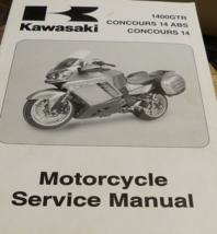 2008 kawasaki 1400gtr concours 14 abs service shop repair manual oem - $118.46