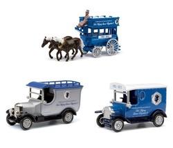 Ford Model T Queen`s Diamond Jubilee (Van) 3 Piece Souvenir Set DJ1003 - $41.98
