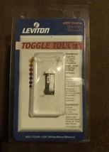 Leviton TGI06-1LW, ToggleTouch Preset Digital 600W Dimmer, Single Pole o... - $13.64