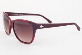 LACOSTE Shiny Burgundy / Brown Gradient Sunglasses L775S 604 - $87.71