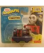 Fisher Price Thomas & Friends Adventures Diecast Timothy Metal Engine DXR81 - $15.83