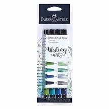 Faber-Castell PITT Artist Pen Set Blue/Green Pens - $13.86