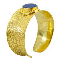 Multi Gold Plated Glass classy Multi Gemstone regular Bangle AU gift - $20.45
