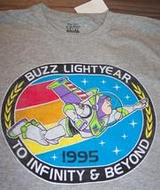 Vintage Style Walt Disney Toy Story Buzz Lightyear T-Shirt Medium New w/ Tag - $19.80