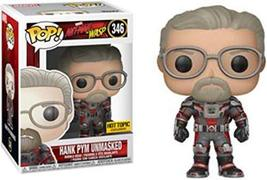 Funko Pop! Marvel #346 Ant-Man & The Wasp Unmasked Hank Pym (Hot Topic E... - $34.99