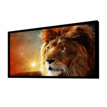 "100"" Diagonal 16:9 Ultra Ready HDTV Fixed Frame Projector Screen White M... - $149.99"