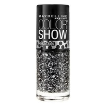 Maybelline Color Show Polka Dots Nail Polish, 75 Clearly Spotted  - $8.90