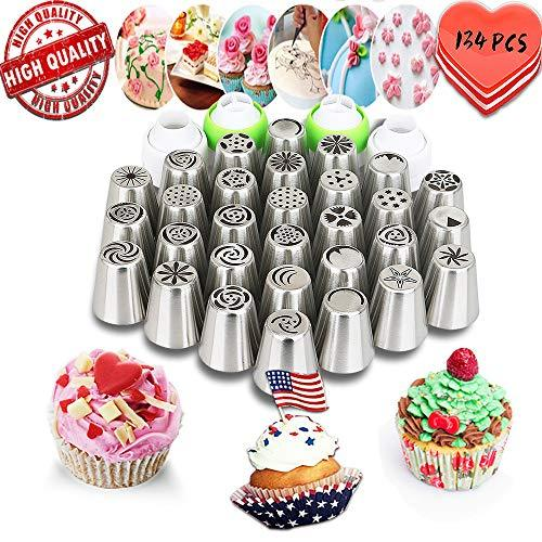 Russian Piping Tips set Cake Decorating Kit Cake Decorating Supplies -30 Piping