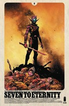 SEVEN TO ETERNITY #8  CVRS A + B   COVERS  IMAGE   EST REL DATE  08/02/2017 - $7.98