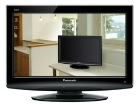 Panasonic TX-L19X10B 19-inch Widescreen HD Ready LCD TV with Freeview - $52.75