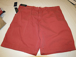 Men's Polo by Ralph Lauren shorts Relaxed Fit 710534020012 Red Pepper 42... - $38.75