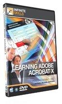 Learning Adobe Acrobat X Training DVD - Tutorial Video [DVD-ROM] Mac OS ... - $23.50