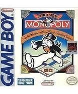 Monopoly (Nintendo Game Boy, 1991) - $7.60