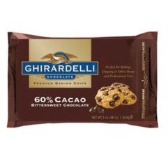 Ghirardelli 60% Cacao Bittersweet Baking Chocolate Chips, 3 Pound - $24.64