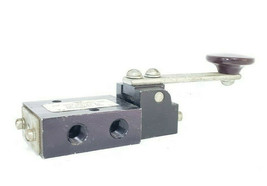 AIR-MITE 3-WAY SOLENOID VALVE WITH LEVER HANDLE image 2