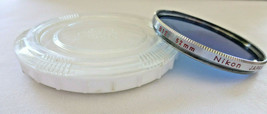 Genuine Rare Chrome Rim Nikon 52MM B12 FILTER Made In Japan Used Bin# 14... - $11.26