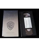 VHS Here's Looking At You The History Of Warner Bros.  Clint Eastwood Ba... - $20.00