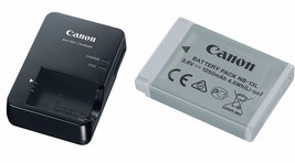 Canon CB-2LHE Battery Charger AND Canon NB-13L Li-Ion Battery Pack - $98.01