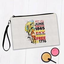 African Woman Ancestors Juneteenth : Gift Makeup Bag Ethnic Art Black Cu... - £8.58 GBP+