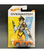 Hot Wheels Overwatch Tracer Power Pro Diecast Car Blizzard Collectible 1/5 - $5.99