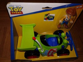 Imaginext Disney Toy Story RC Car Vehicle and Woody Cowboy Figure New - $24.81