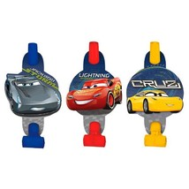 Cars 3 Blowouts [8 Per Package]  - £6.83 GBP