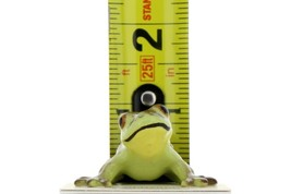 Hagen Renaker Miniature Frog Curious Ceramic Figurine image 2