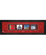 Personalized Bard College Campus Letter Art Framed Print - $39.95