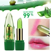 2017 New Batom 99% ALOE VERA Natural Temperature Change Color Jelly Lips... - $2.82