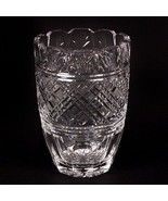 """Waterford Crystal 8"""" Vase Beautiful Design, Fluted Edge, Great Condition! - $178.20"""