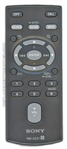 SONY Remote Control for  MEX-BT4100U, MEX-BT4150U, MEX-GS600BT, MEX-GS61... - $21.78